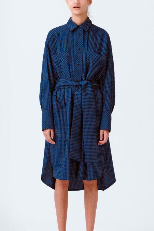 MUNTHE Robe RENO - Navy