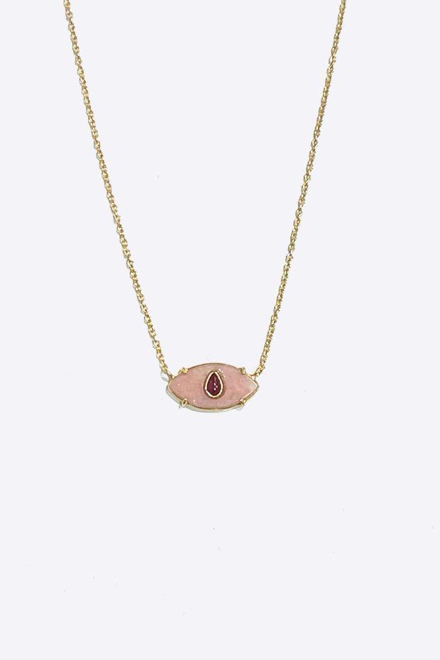 Bohemian Rhapsodie Collier AYIN - Opale Rose