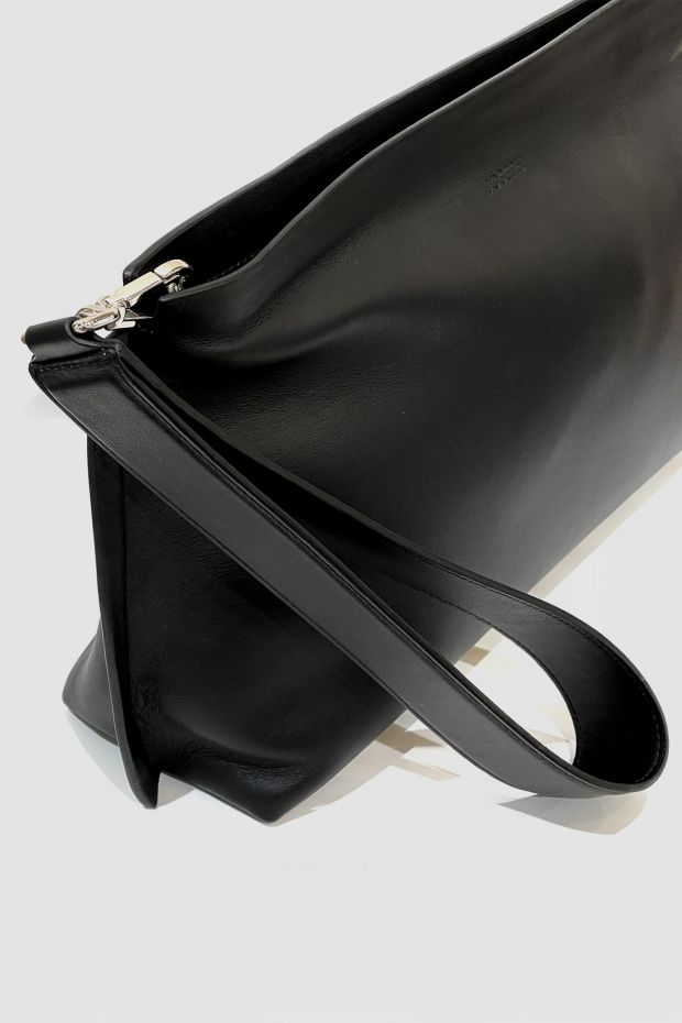 Joseph Pochette CLUTCH Cozumel Light - Black