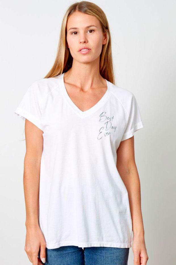 good hYOUman. T-Shirt TAMARA - Best Day EverScript