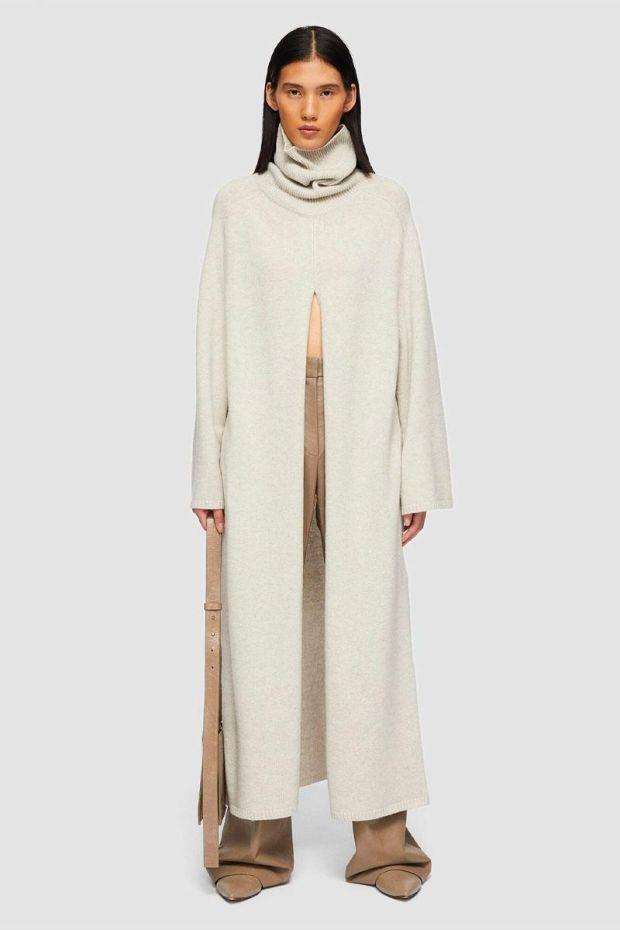 Joseph Viviane Dress O'size Knit - Papyrus