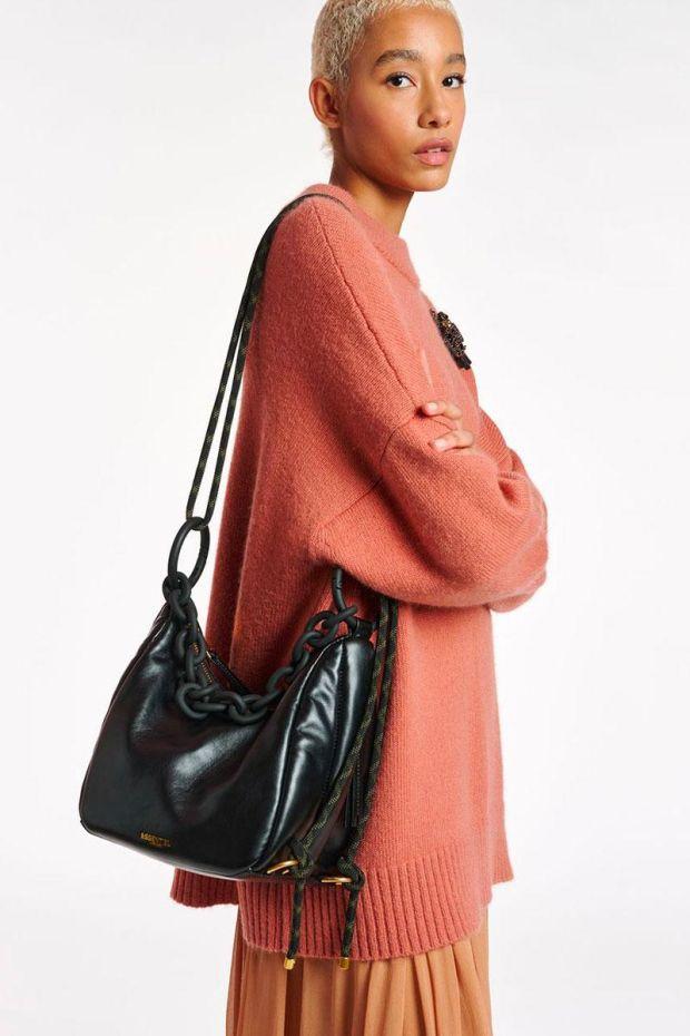 Essentiel Antwerp Sac ALINE Shoulderbag Medium - Black