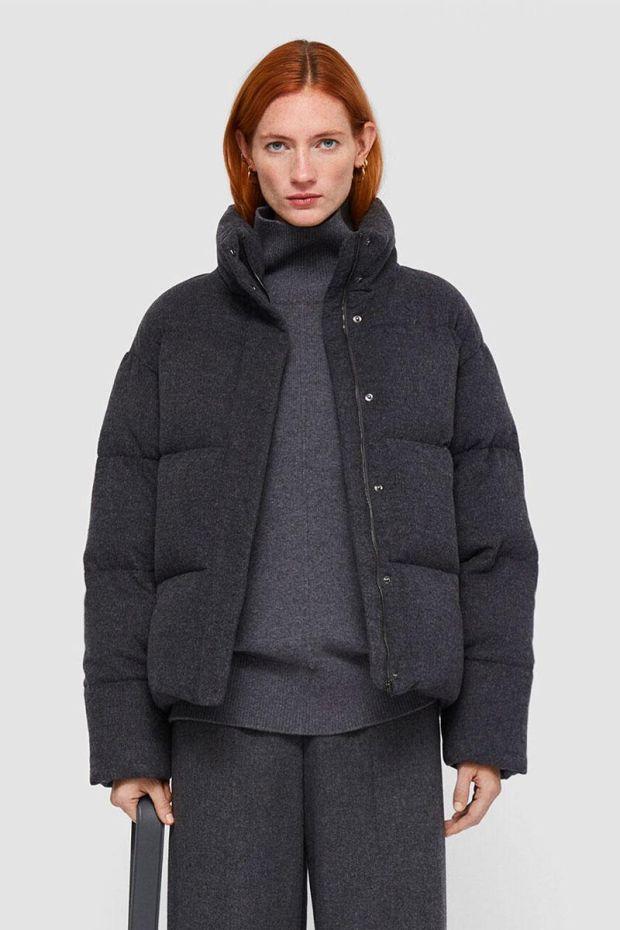 Joseph Doudoune CARAH Coat Flannel - Graphite