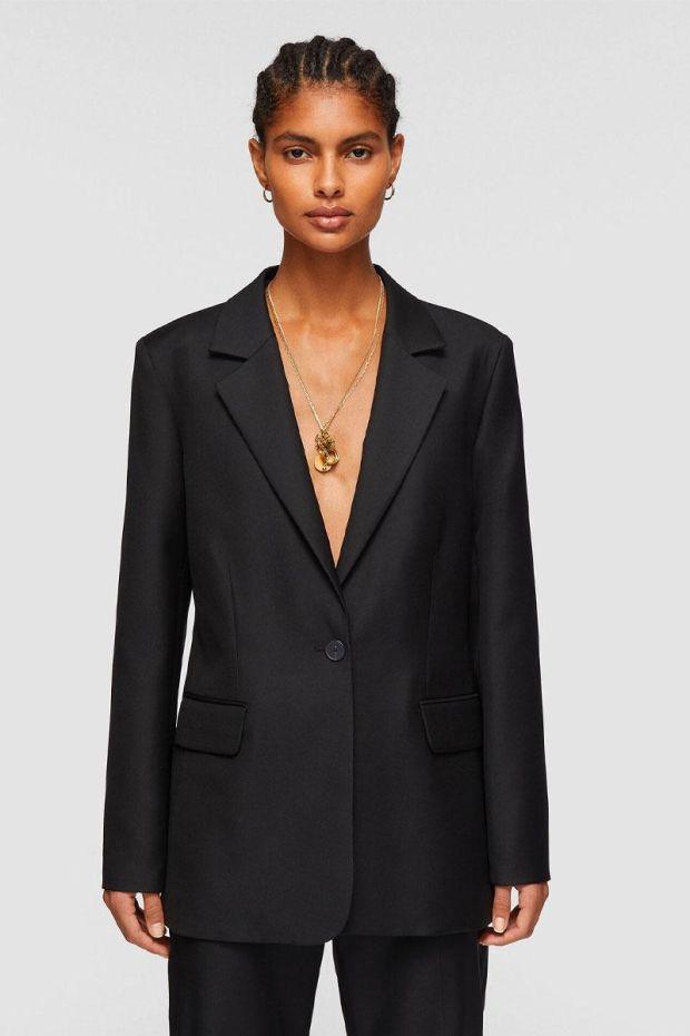 Joseph Veste JOSINA Tailoring Wool - Black