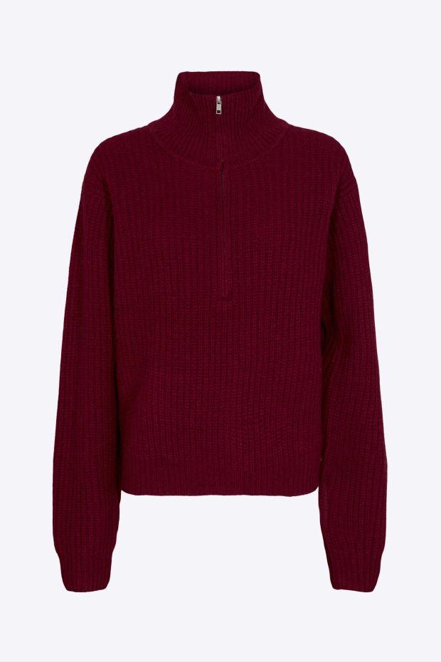 Designers Remix Pull Carmen Sweater - Red