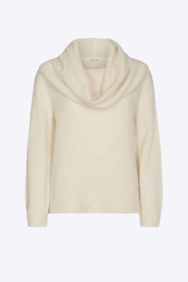 Designers Remix Pull Verona Neck Sweater - Cream